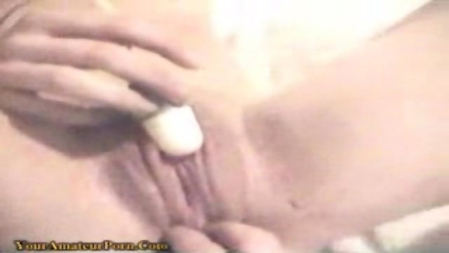 Blond girl likes to squirting