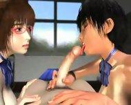Umemaro 3D - Senpai - scene 8