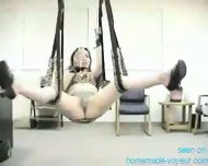 Homemade - Swining Fun - Sex on a swing - scene 2