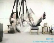 Homemade - Swining Fun - Sex on a swing - scene 4