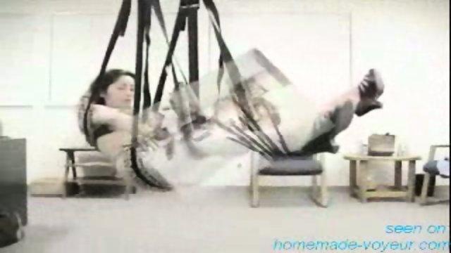 Homemade - Swining Fun - Sex on a swing