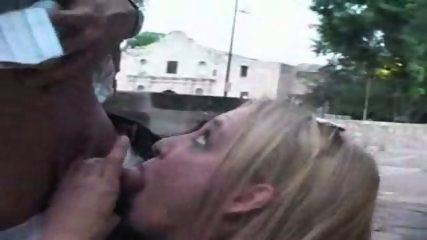Amazing Blonde In REAL PUBLIC SEX Hot Video - scene 1