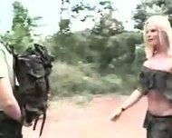 Sexy TS Army - scene 1