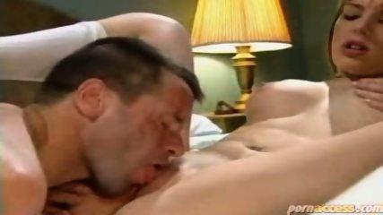 Tramp pussy licks a readhead chick - scene 10