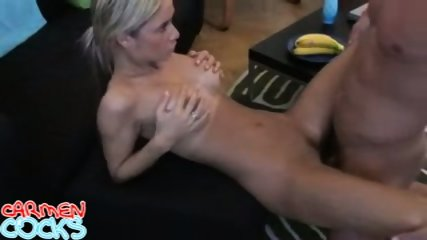 Carmen Cocks Livingroom Sex - scene 7