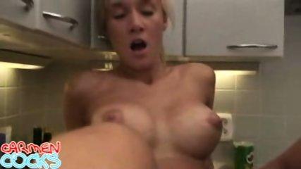 Carmen Cocks - Kitchen Hardcore - scene 8