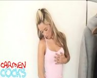 Carmen Cocks - Clothrack striptease - scene 7