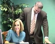 Brandi Love blowjob at Office - scene 1