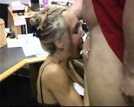 Brandi Love having sex at the Office - scene 3