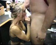 Brandi Love having sex at the Office - scene 4