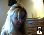 Blonde teen webcam blowjob - scene 5