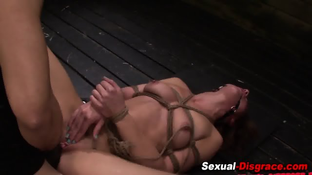 Bound slaves ass fucked