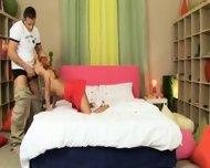 Teengirl fucked in her room - scene 2