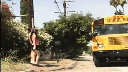 Punk girl fucks her Punk bus driver - scene 1