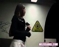 Melissa Doll - Melissa and Jinny public exposure - scene 3
