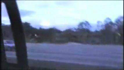 Homemade - Two men fuck one girl in a car - scene 7