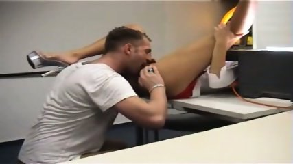 Awesome Girl Gets FUCKED In The Office - scene 11