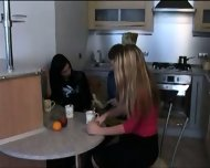 Russian threesome - scene 3