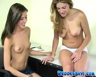 Brooke Skye - 2005-08-02 - Playing in the office - scene 1
