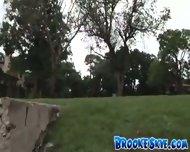 Brooke Skye - 2005-07-20 - Flashing in the park