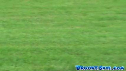 Brooke Skye - Soccer with a Friend - scene 5