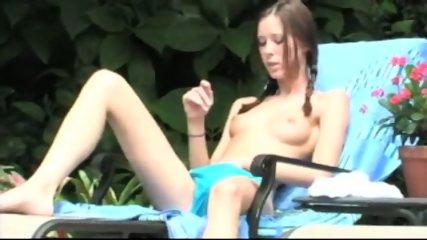 Brooke Skye - 2005-05-17 - Sunbathing at the pool - scene 5