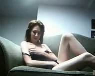 Homemade - couple fucking on couch - scene 1