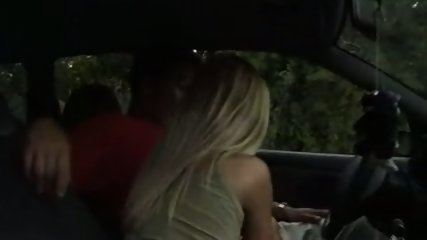 Amateur - Blowjob in the car - scene 1