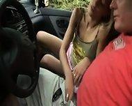 Amateur - Blowjob in the car - scene 2