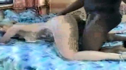Amateur - Blond slut enyoys black meat - scene 9