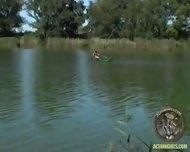 Action Girl - Susana Pears Boat Ride - scene 1