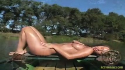 Action Girl - Susana Pears Boat Ride - scene 12