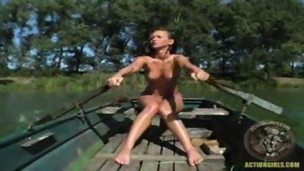 Action Girl - Susana Pears Boat Ride - scene 3