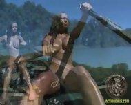 Action Girl - Susana Pears Boat Ride - scene 4