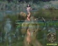 Action Girl - Susana Pears Boat Ride - scene 7