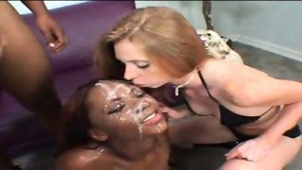 Ebony Bukkake Slut - scene 9