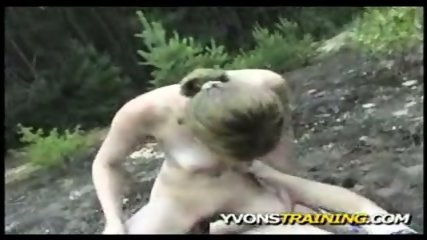 Christine Young OUTDOOR Sex!! - scene 11