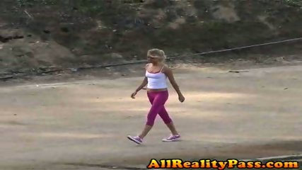 Brynn gets a different kind of workout today! - scene 2