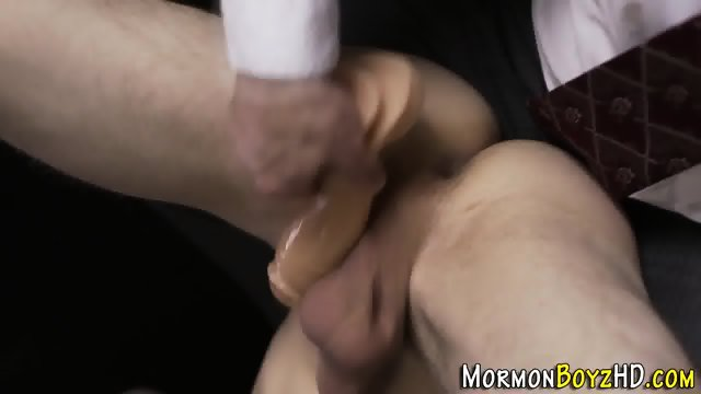 Mormon twink cum anointed