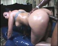Hot anal ebony action! - scene 9