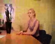Skinny - Dutch Teen beeing casted - scene 2
