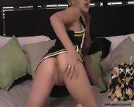 19yo Cheerleader Masturbates - scene 4
