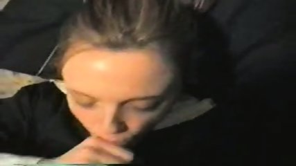 College girl BJ and facial - Homemade - scene 4
