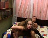 Cute russian teen getting it - scene 11