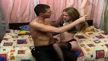 Cute russian teen getting it - scene 1