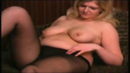 Horny BBW Plumper Teen GF Masturbation - scene 1