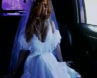 Bride in limo - scene 1