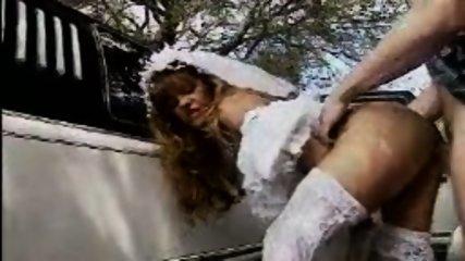 Bride in limo - scene 8
