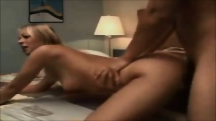 Amateur Blonde Creampied - scene 7
