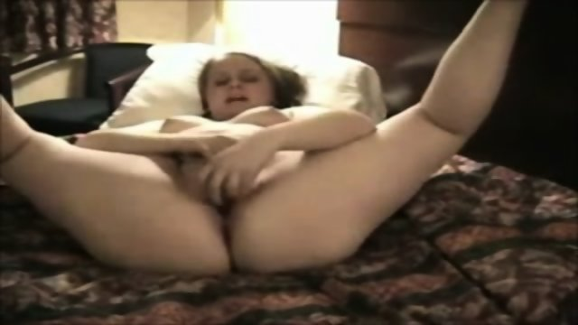 Very Horny Fat Chubby Teen Masturbation